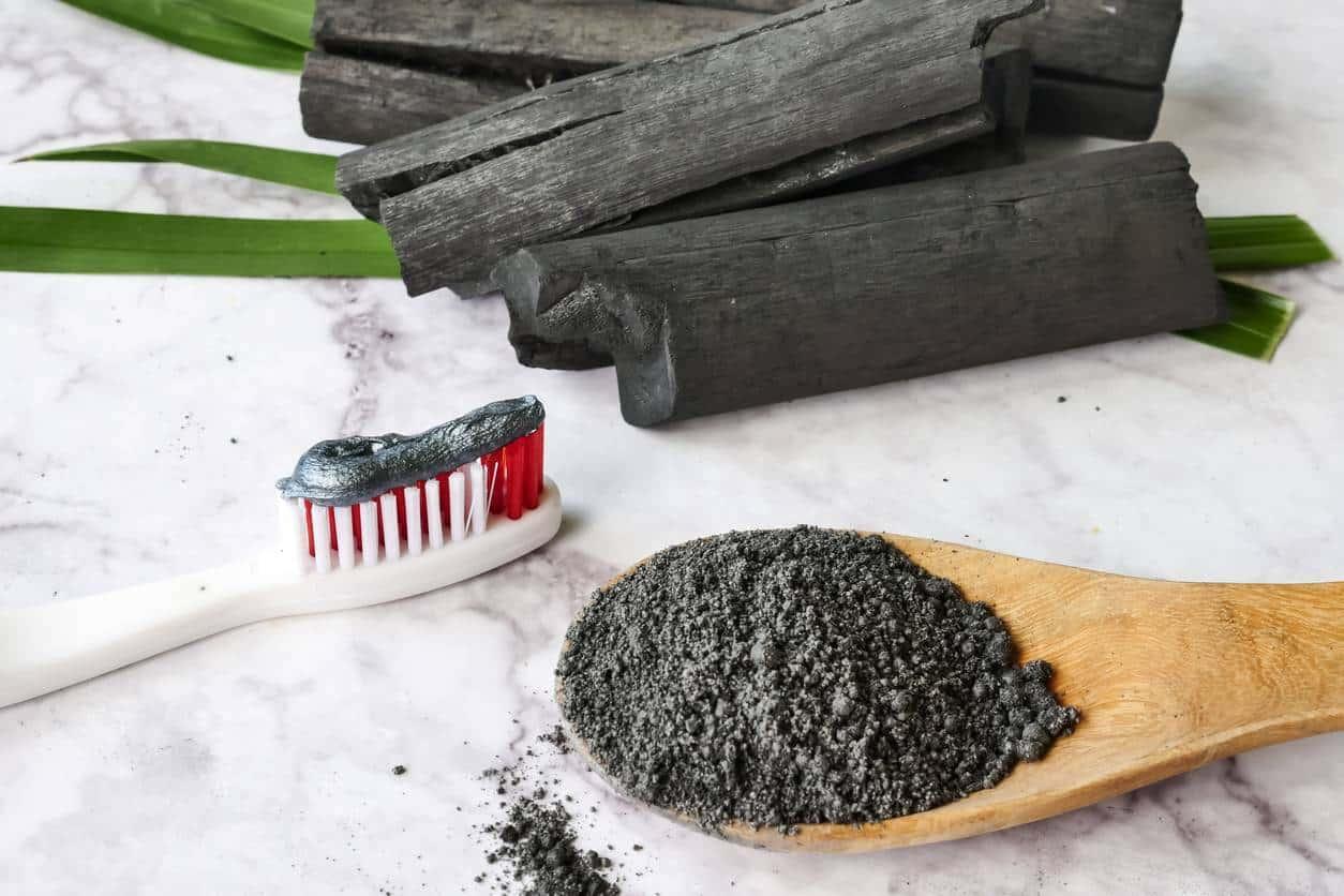 poudre charbon