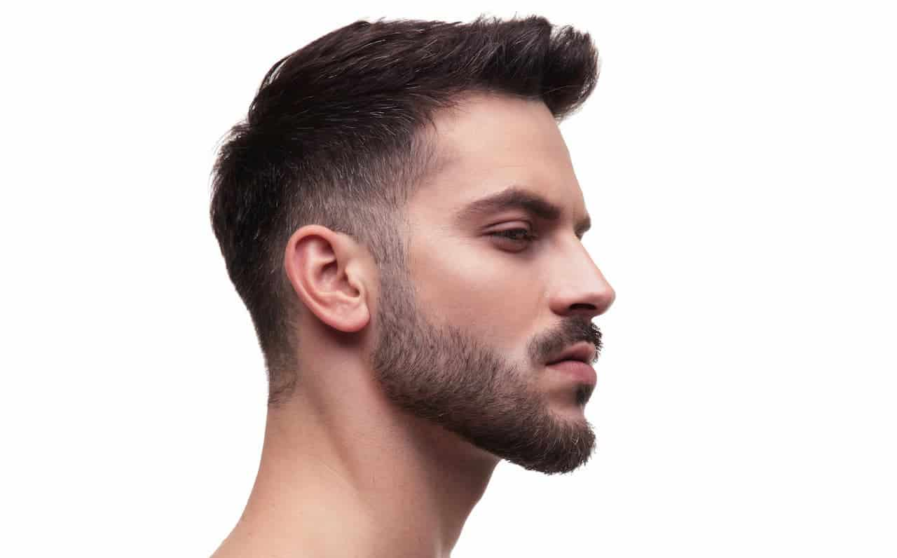 Le dégradé cheveux en avant
