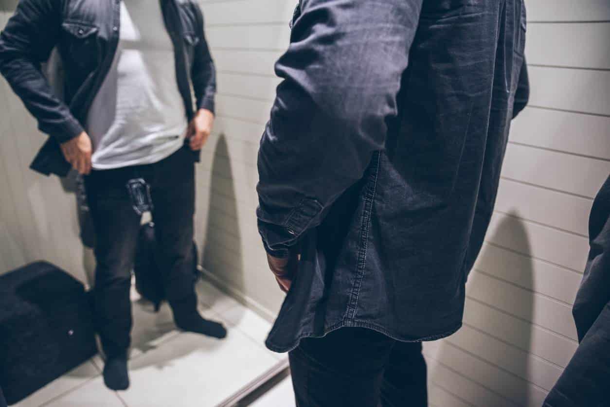 pantalon jean homme quadra