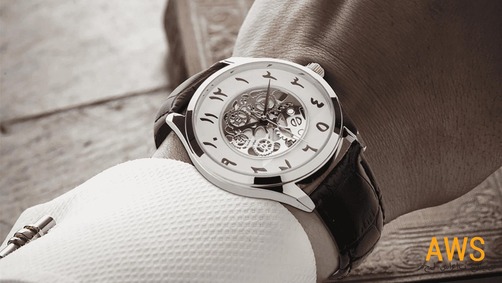 La montre chiffre arabe, la nouvelle mode?