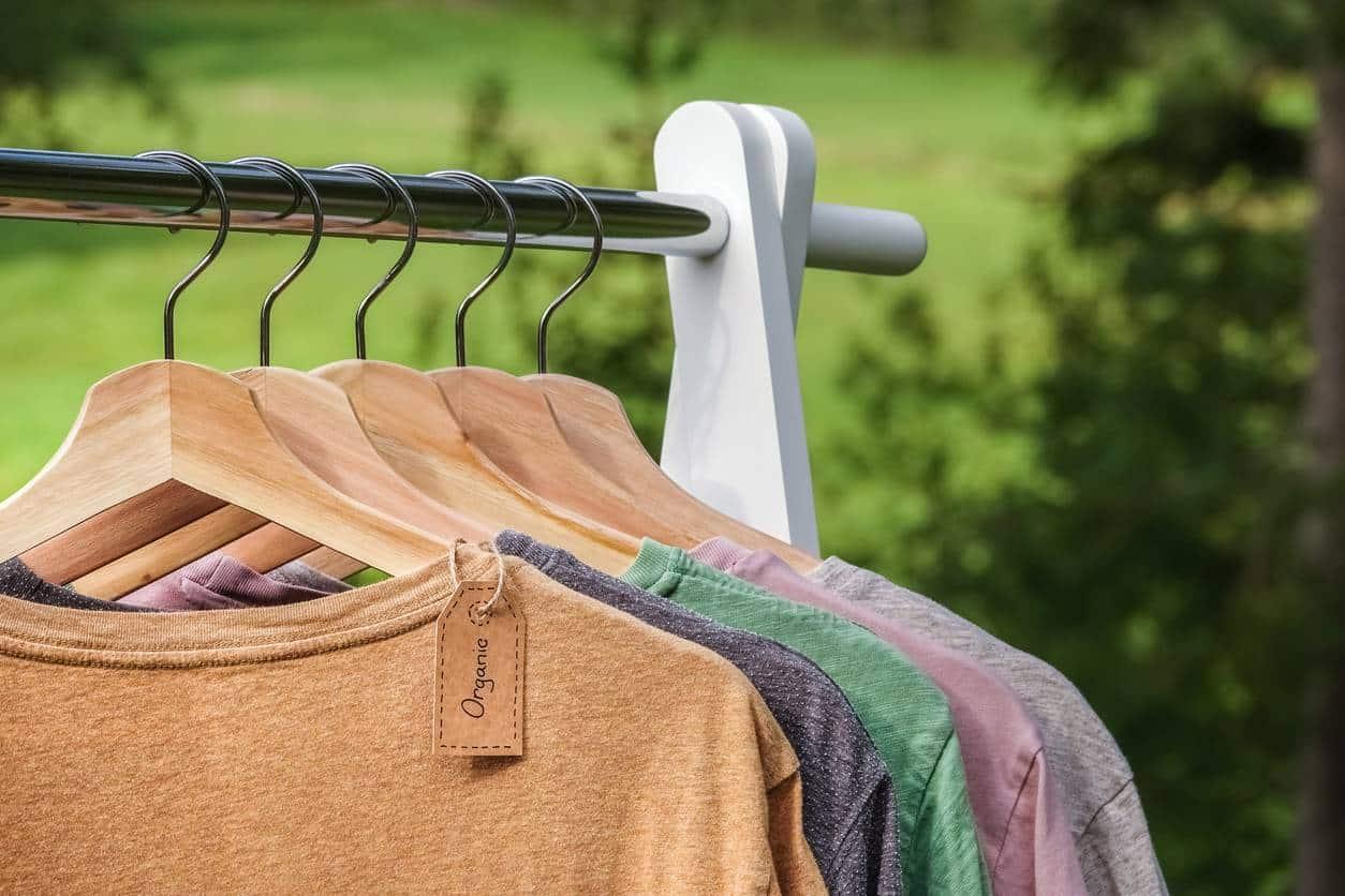 vêtements en coton bio, mode vegan