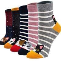 Avez-vous pensé aux chaussettes chat?