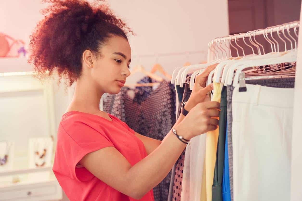 stockage des vêtements